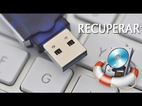 recuperar archivos eliminados pendrive