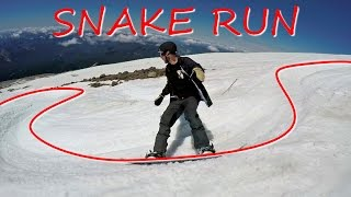 3 Snake Run Snowboarding Tips