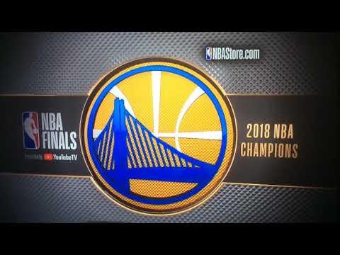 2018 Golden State Warriors NBA champs gear commercial