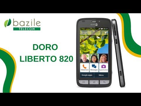 Doro Liberto 820 présenté par Bazile Telecom
