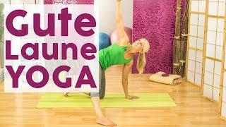 Da hat schlechte Stimmung keine Chance: Gute Laune Yoga