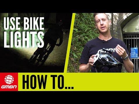 Mountain Bike Lights: How To Use & Set Up Bike Lights