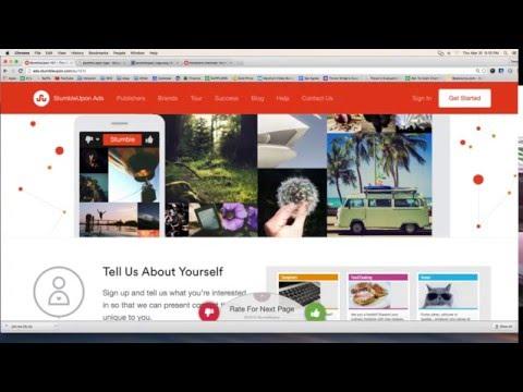 StumbleUpon.com - The Basics