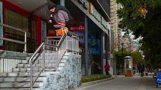 Heelflips and Handrails in the Far East - Skateboarding with Derek Swaim