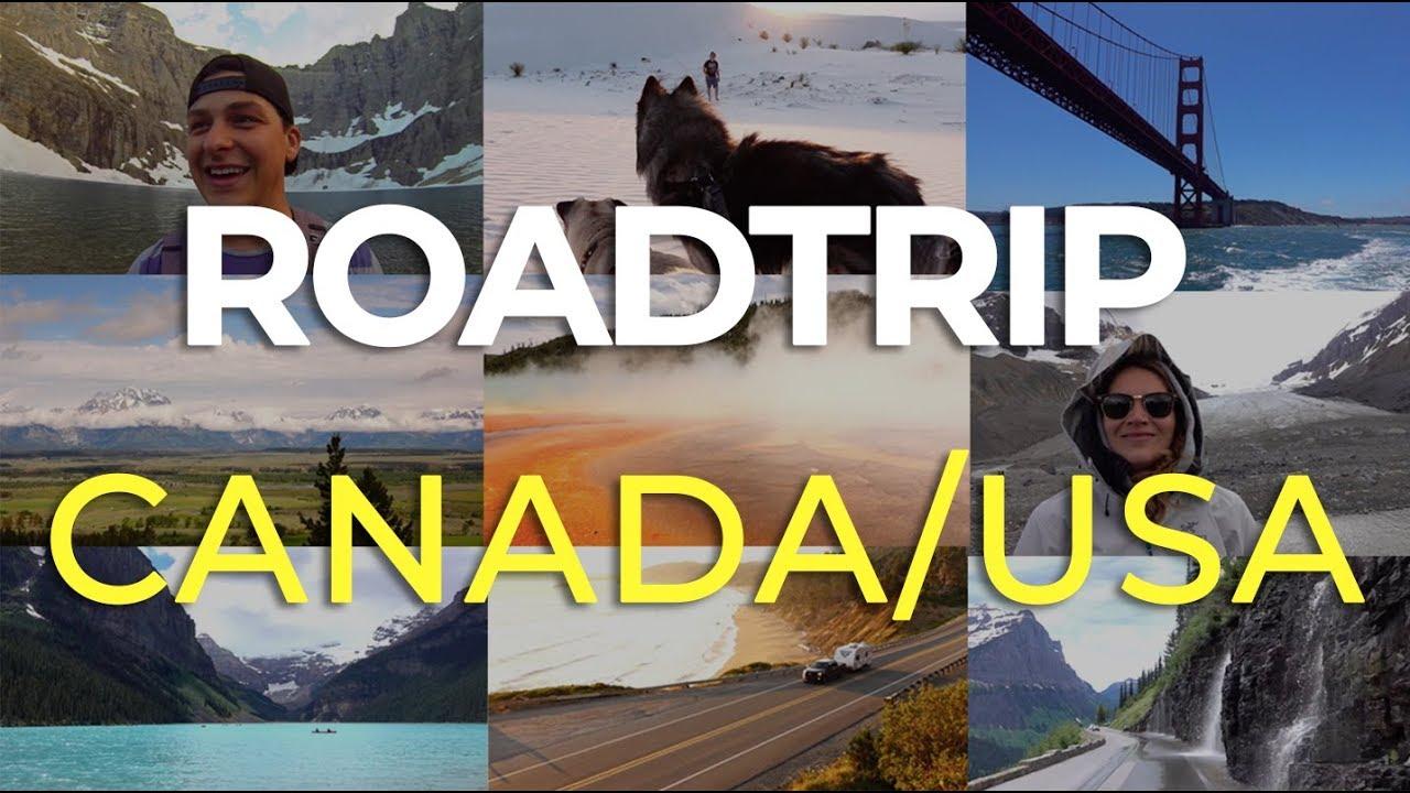 Road Trip North America - Canada / USA / Mexico