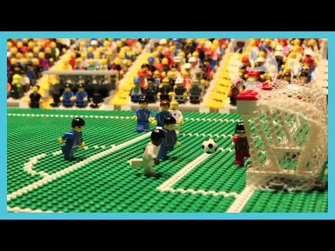 England vs Italy | World Cup 2014 | Brick-by-brick