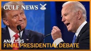 US election 2020: Analysis on the final presidential debate