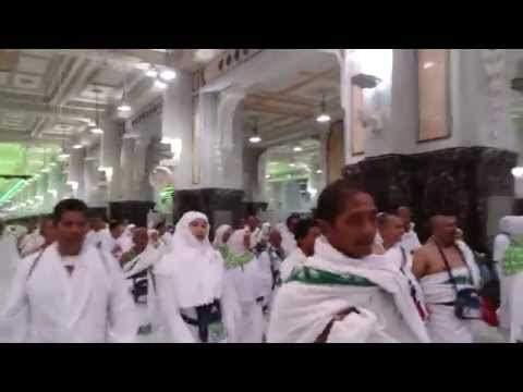 INDONESIAN HAJ GROUP AT SAFA & MARWA 2014/1435