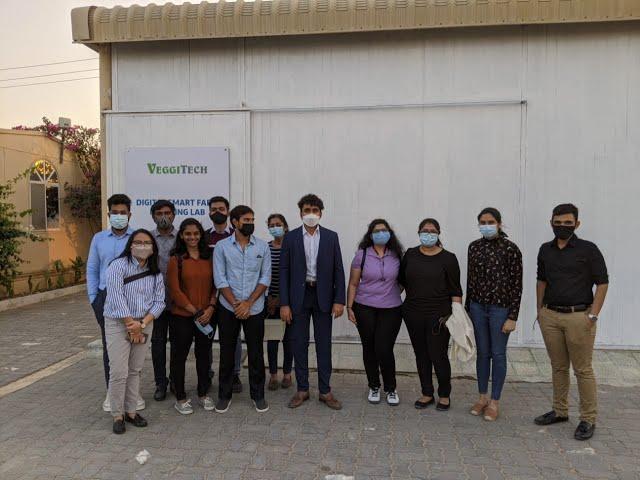 SP Jain Visits VeggiTech