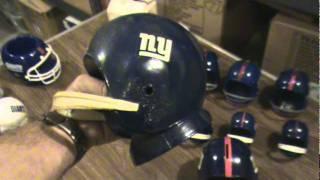 Video 1 of 2 for Box # 97 - NYGiantsMuseum.com -- Bobble Heads -- Nodders -- Ceramic Helmets...