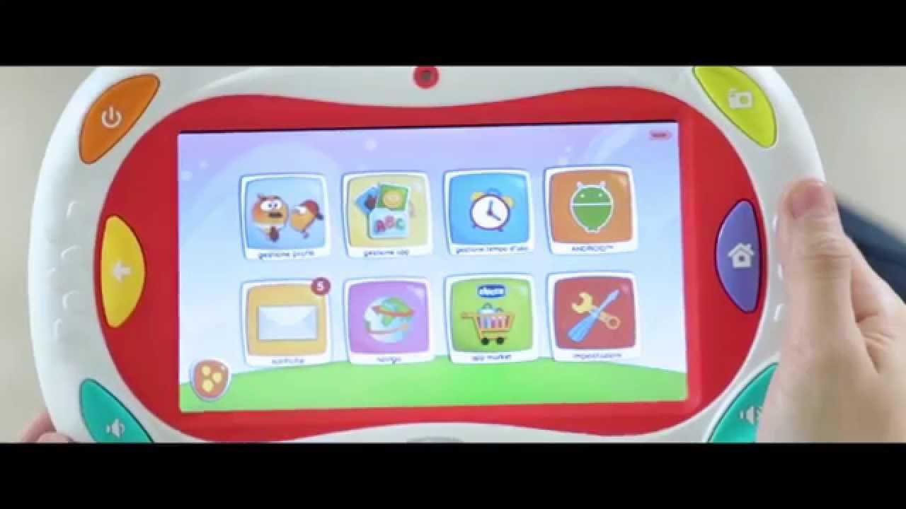 Il vero tablet personalizzabile che cresce con tuo figlio for Happy tab chicco microfono