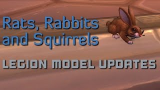 Legion Battle Pet Model Updates