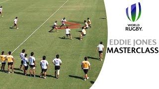 Coaching MASTER Eddie Jones reveals top attacking tips