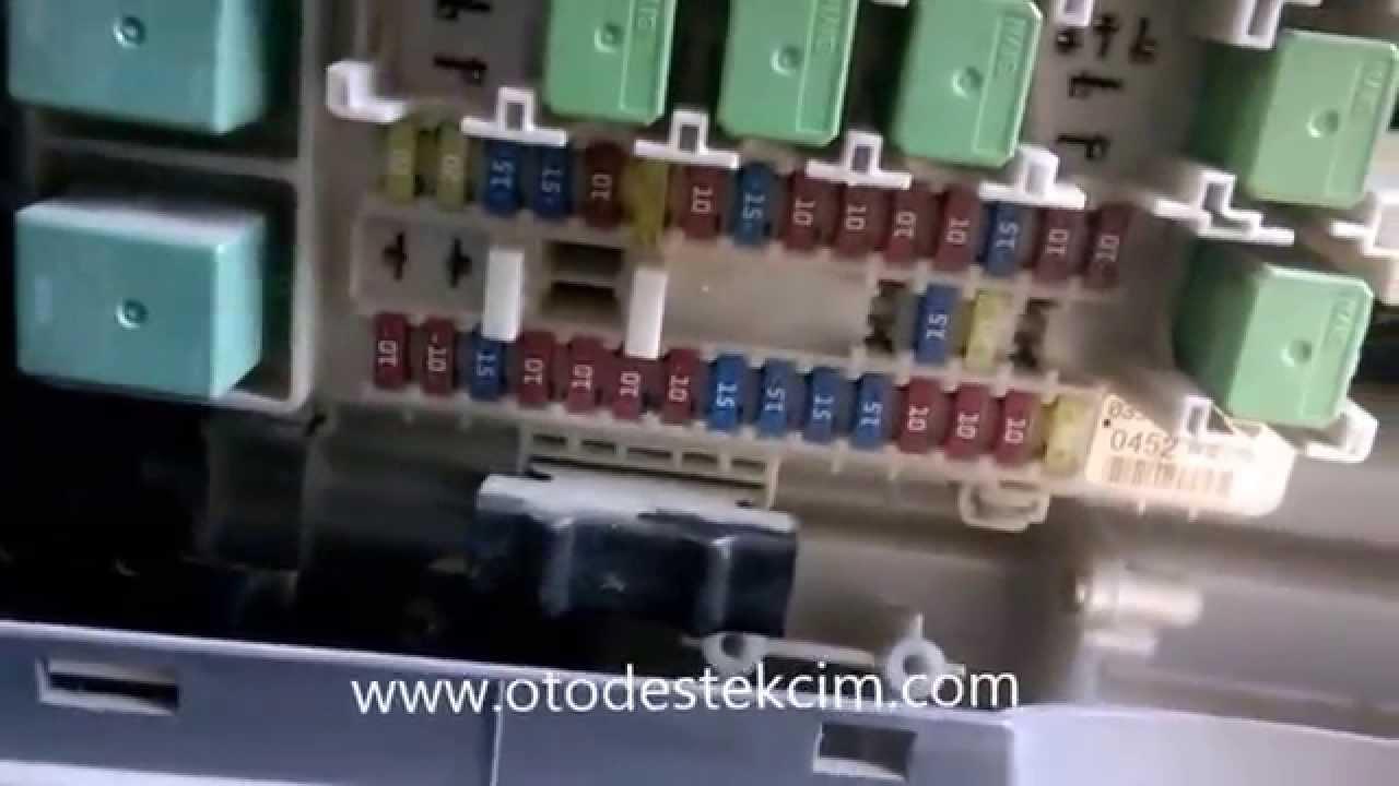 ISUZU Sigorta Kutusu  Fuse Box  YouTube