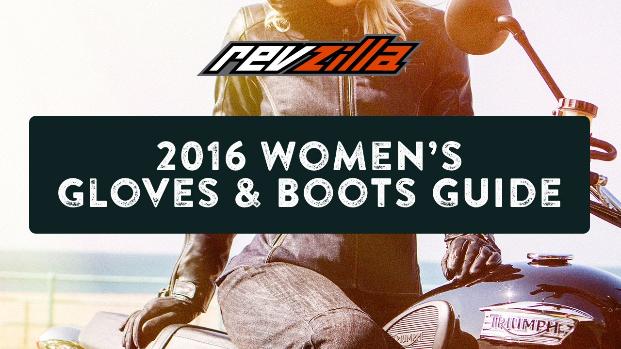 Motorcycle gloves guide - 2016 Women S Motorcycle Gloves Boots Buying Guide At Revzilla Com