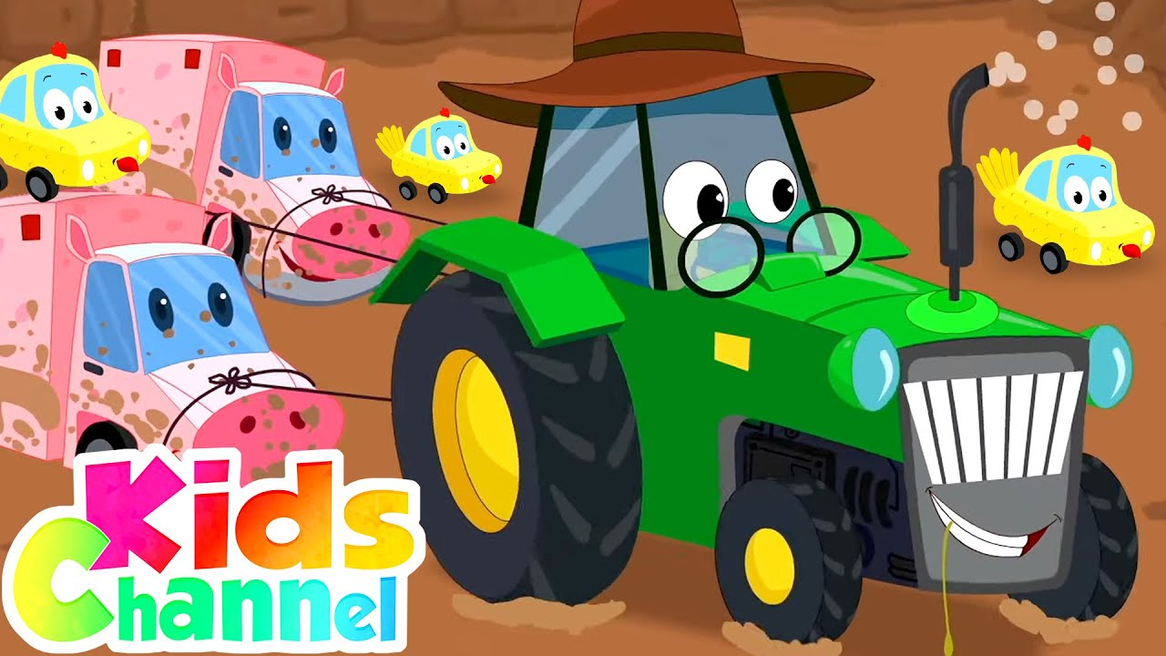 Old Macdonald Had A Farm Nursery Rhymes And Kids Songs - Kids Channel
