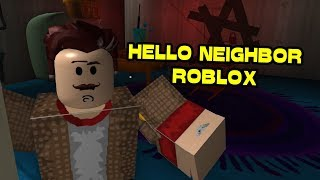 Hello, Brother! Alpha 1 UPDATE | HELLO NEIGHBOR ROBLOX