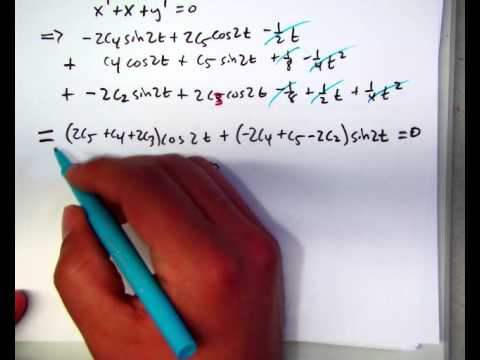 8.1 Solving systems of differential equations using operators (part 2)