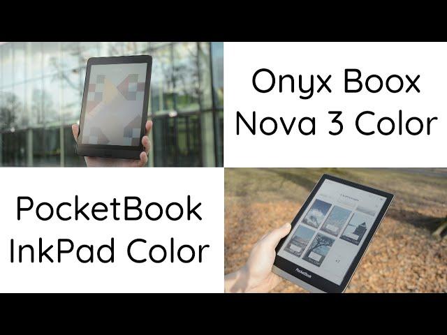 Który czytnik z kolorowym ekranem jest lepszy? Onyx kontra PocketBook