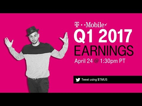 T-Mobile Q1 2017 Earnings Call: Behind-the-Scenes Livestream