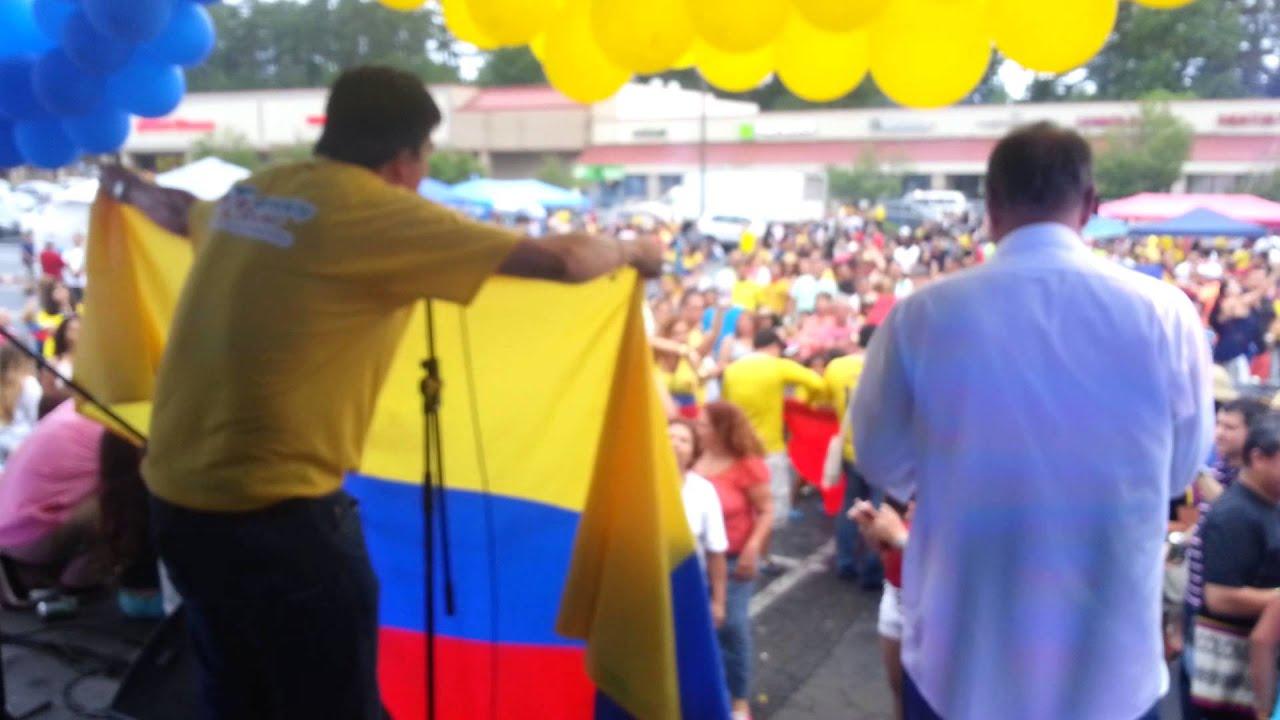 fe22531f62 Festival independencia de Colombia 2014 Atlanta - YouTube