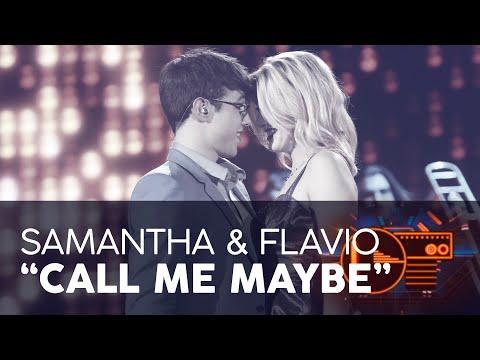 """CALL ME MAYBE"" - FLAVIO y SAMANTHA | GALA 4 | OT 2020"