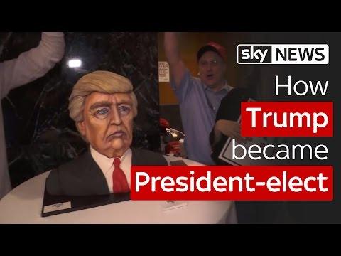 How Donald Trump became President-elect