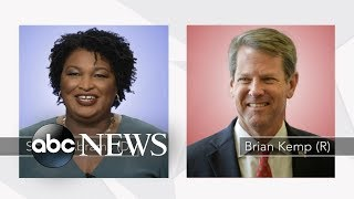 Brian Kemp, Stacey Abrams make final push in tight Georgia governor's race
