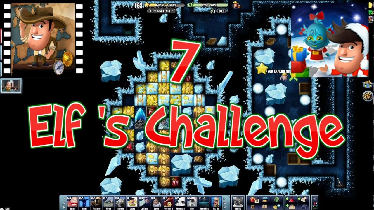 Christmas 2016~] # Elf's Challenge 7 - Diggy's Adventure - YouTube