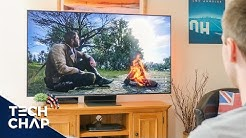 The BEST Gaming TV 2019? [4K 120hz HDR FreeSync 2!] 🎮 | The Tech Chap
