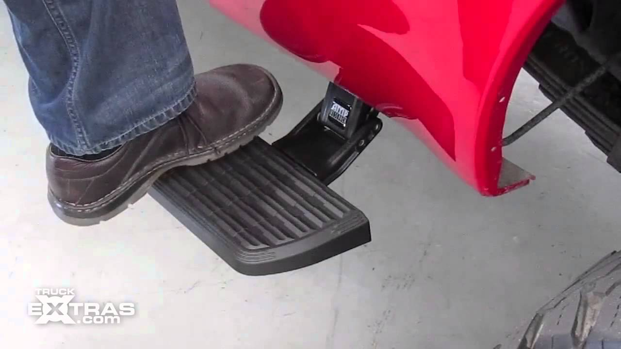 Bedstep2 Retractable Box Side Truck Steps Youtube