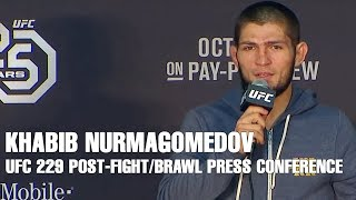 Khabib Nurmagomedov Apologizes After UFC 229 Post-Fight Brawl