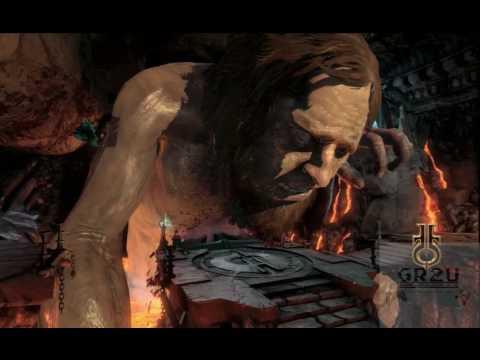 God of War III Hephaestus Battle