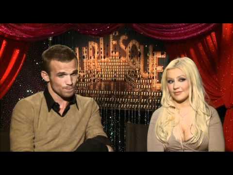Christina Aguilera and Cam Gigandet talk Burlesque