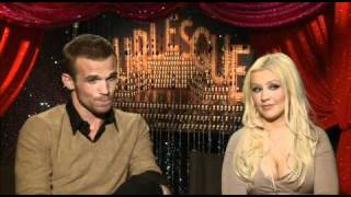 Christina Aguilera and Cam Gigandet talk Burlesque
