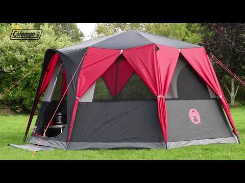 Coleman® Festival Octagon Tent - large 8 man tent with 360° surrounding view