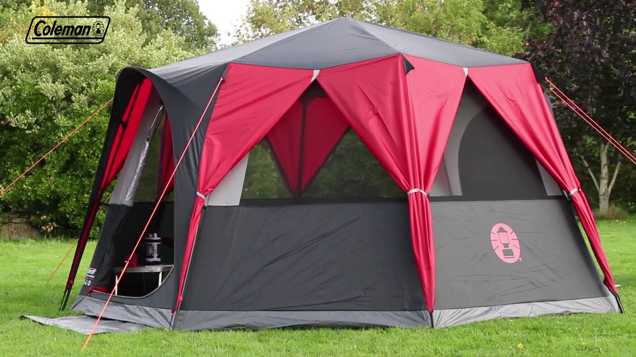 watch 468c3 d312f Coleman® Festival Octagon Tent - large 8 man tent with 360° surrounding view