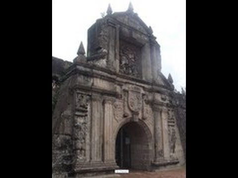 Fort Santiago-City of Manila  In the Philippines (필리핀 마닐라의 센디아고 요새 )