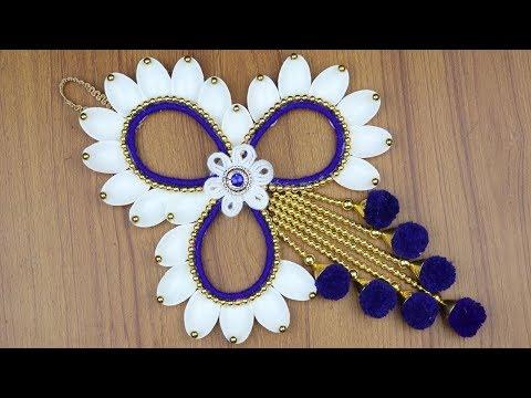 Door Hanging Toran - DIY arts and crafts - Waste material craft ideas - Best reuse ideas