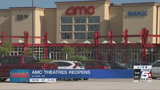 After five months of being closed due to the coronavirus, major movie theaters chains in u.s. are starting reopen.