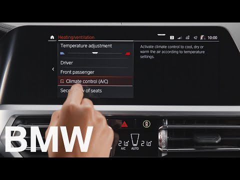How to turn the climate control in your BMW on or off – BMW How-To