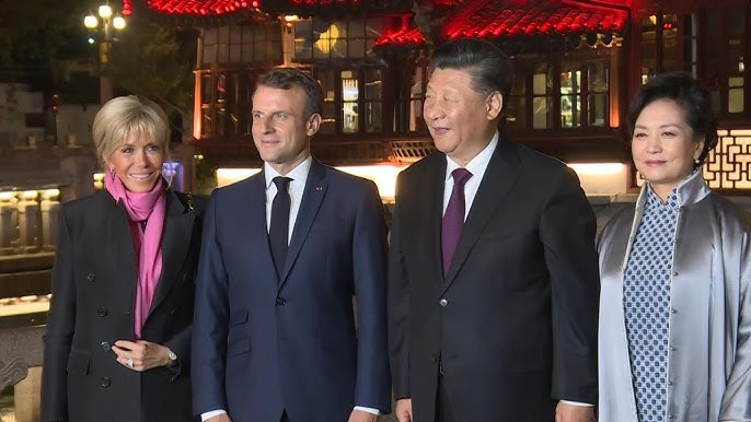 French President Emmanuel Macron Visits China To Strengthen Ties Youtube