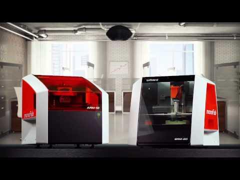 The new monoFab ARM-10 3D printer and SRM-20 3D Desktop milling machine
