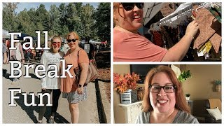 Fall Break | Shopping, Fall Festival And Christmas Decor