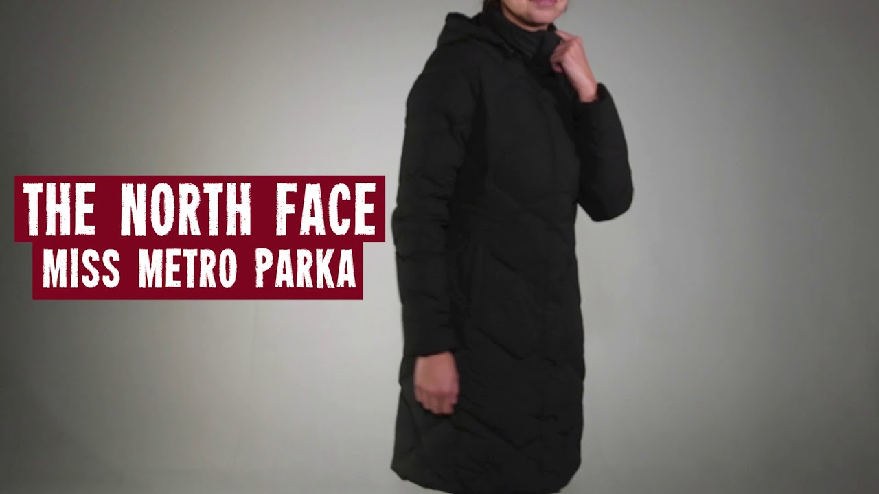 5d1525a96d The North Face Women s Miss Metro Parka 2017 Review - YouTube