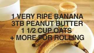 Let's Make Peanut Butter, Banana, & Oat Dog Treats With Sweet Paul!