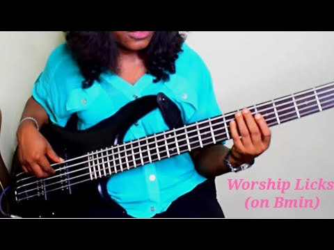 Download L#72 Worship Licks On Bm Bass Lesson #licks #basslessons