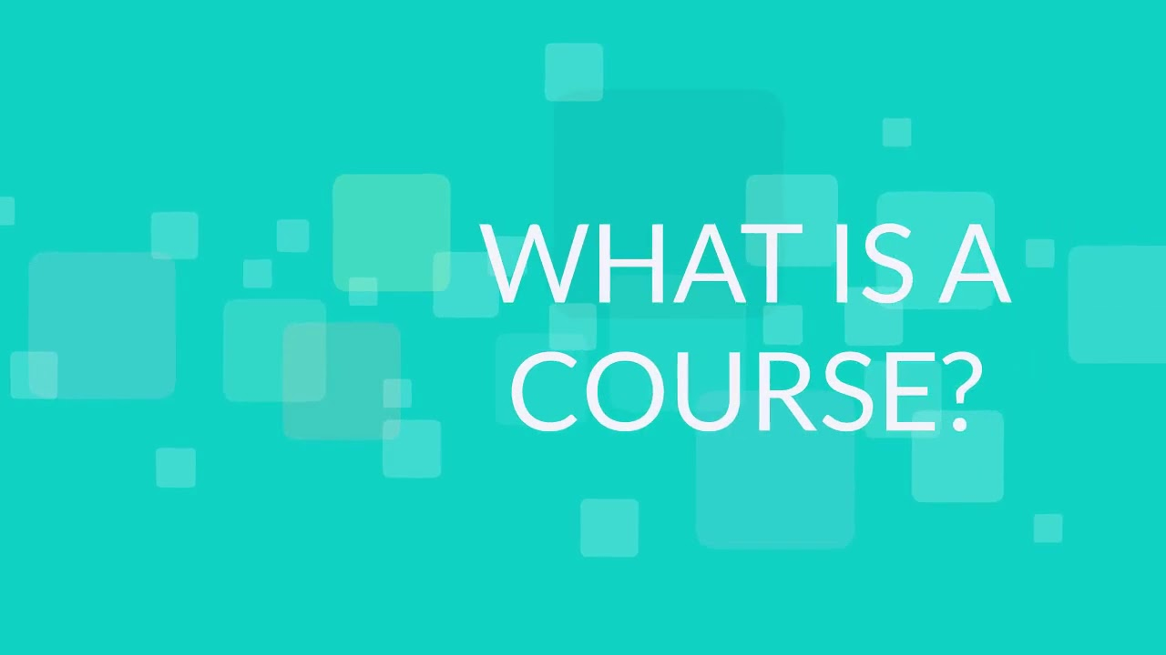 FAQ Admin - WHAT IS THE DIFFERENCE BETWEEN A DRAFT, A VERSION AND A COURSE?