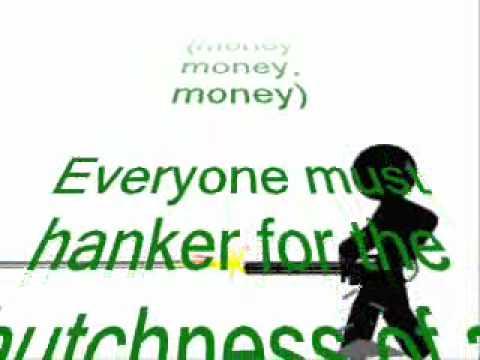 """Monty Python's """"Money Song"""" Lyrics"""