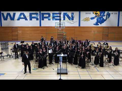 Warren Township HS Symphonic 1 Concert 03202018